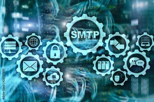 Fotografía  Smtp - server mail transfer protocol