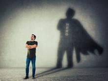Man Casting A Superhero With C...