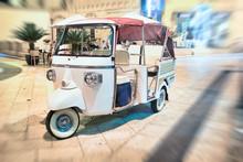 Ape Car For The Transportation...