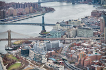 New York City From Helicopter ...