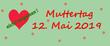 Muttertag Banner nicht vergessen 12.5.