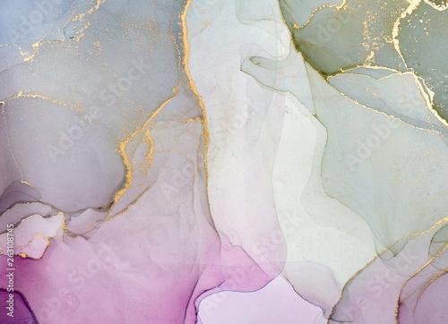 Pinturas sobre lienzo  Fluid Art