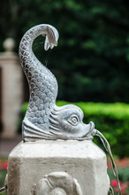 Stone Fish Fountain
