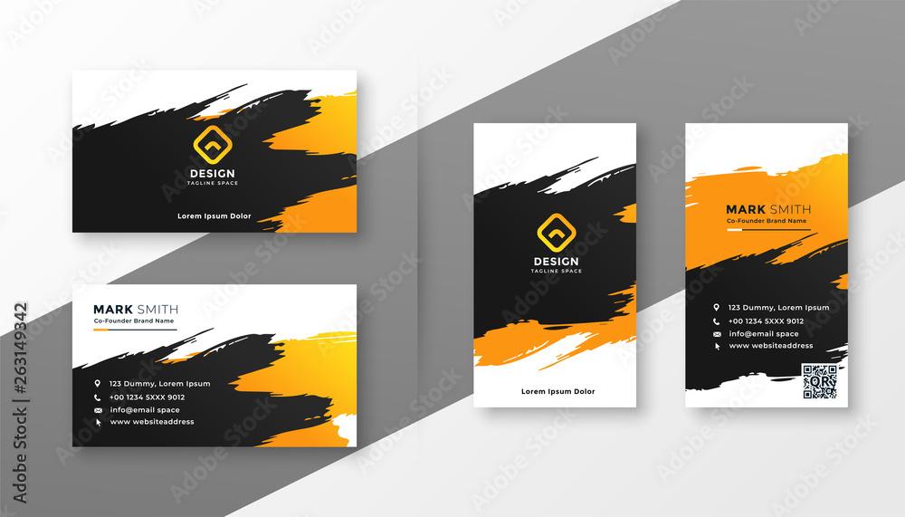 Fototapeta abstract creative business card design