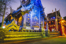 Silver Temple In Chaing Mai, Thailand