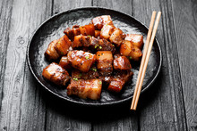 Chinese Traditional Cuisine, Braised Pork.
