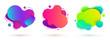 liquid design amoeba banners