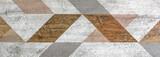 płytki ceramiczne z marokańskim abstrakcyjnym wzorem mozaiki - 263200952