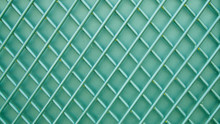 Metal Bars On A Blue Background, Metal Mesh, Metal Texture, Color Background, Abstraction, Mesh Wall, Color Metal