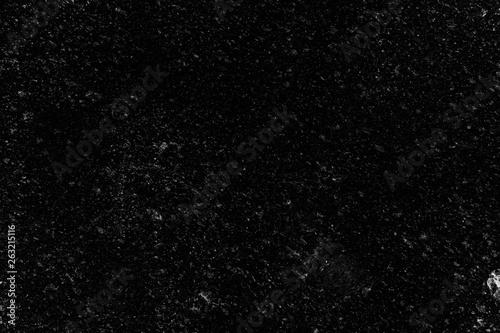 Cadres-photo bureau Cailloux White Grunge on Black Background for Overlay.