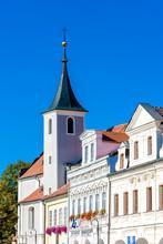 Historic Architecture Domazlice, Czech Republic