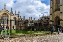 Bikes At Oxford Uni
