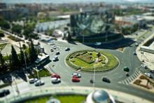 Rotonda De Granada Con Efecto ...