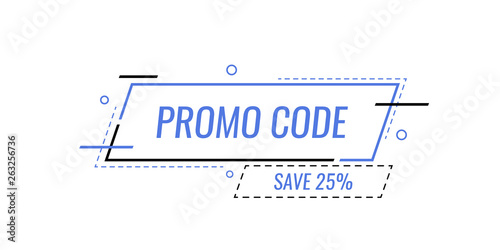 Promo Code Coupon Code Banner Design Modern Vector Illustration In Flat Style Buy This Stock Vector And Explore Similar Vectors At Adobe Stock Adobe Stock