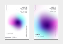 Abstract Gradient Poster And C...
