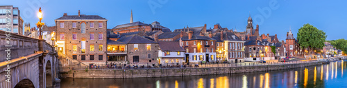 Foto auf Leinwand Nordeuropa York cityscape panorama