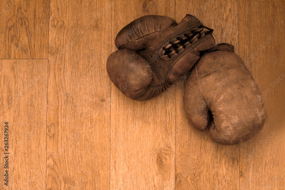 Photo  Boxing gloves