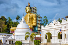 Wewurukannala Buddhist Temple With Big Buddha Statue, Sri Lanka