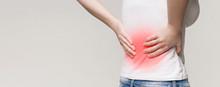 Kidney Inflammation, Woman Suf...