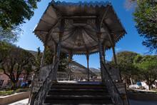 Kiosk Front View In Downtown R...