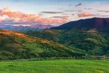 Beautiful Rural Area In Mounta...