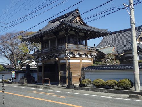 Foto op Aluminium Guilin Gate of Ryuenji temple, Tokaido road, Fuji city, Shizuoka prefecture, Japan