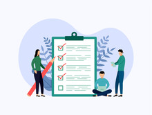 Survey Report, Checklist, Ques...