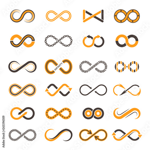 Valokuva Infinity icons