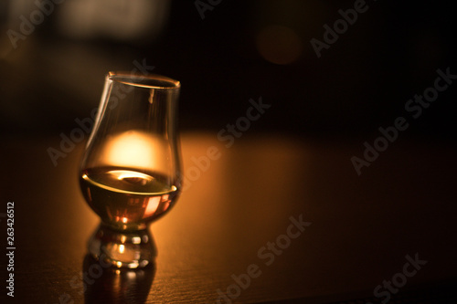 Glencairn whisky glass Canvas Print