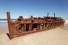 Wreck, Luxury Liner SS. Maheno...