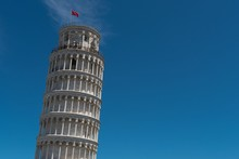Leaning Tower Of Pisa, Piazza Del Duomo, Piazza Dei Miracoli, Province Of Pisa, Tuscany, Italy, Europe