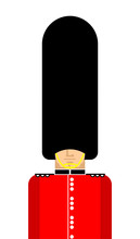 British Guardsman Isolated. Lo...