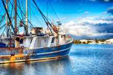 Fishing Trawler Hyannis Massachusetts