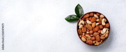 fototapeta na drzwi i meble mix of nuts