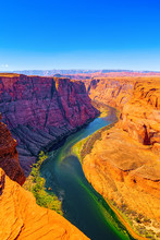 Horseshoe Bend Is A Horseshoe-shaped Incised Meander Of The Colorado River.