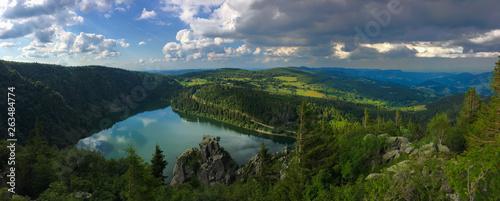 Obraz na plátně Lac Blanc, Balade sur les cretes des vosges