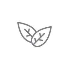 Tobacco Outline Icon. Elements Of Smoking Activities Illustration Icon. Signs And Symbols Can Be Used For Web, Logo, Mobile App, UI, UX