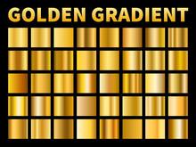 Golden Gradients. Gold Squares...