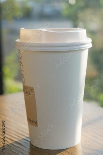 Valokuva  紙コップホットコーヒー