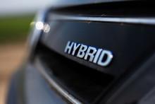 Hybrid, Ecologic Car Symbol.