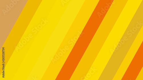 Fototapety, obrazy: Orange and Yellow Diagonal Stripes Background