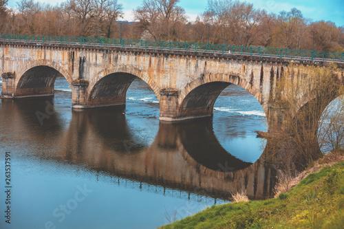 Pont aqueduct Wallpaper Mural