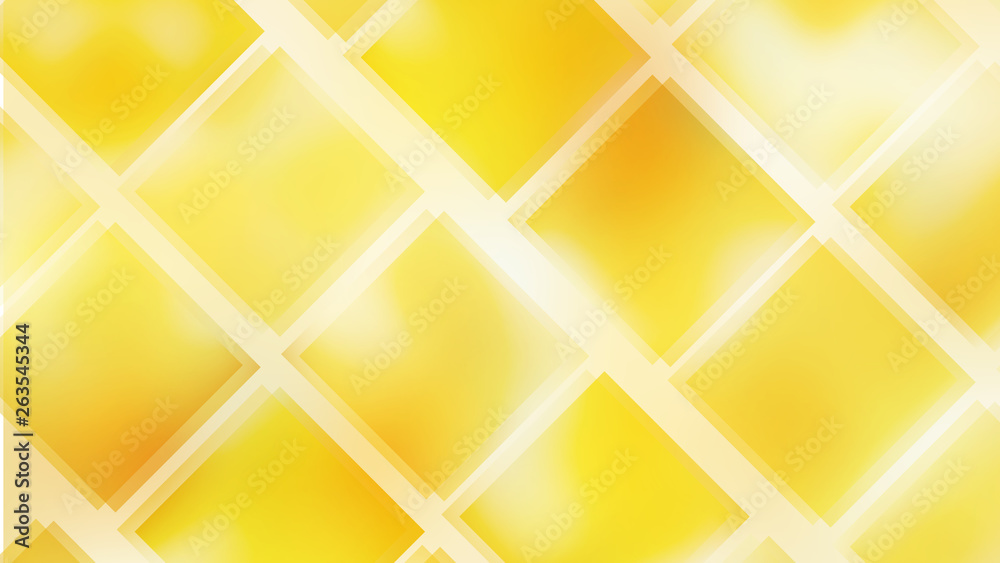 Fototapeta Abstract Orange Square Lines Background Design Template