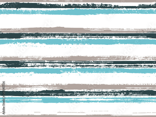 Türaufkleber Künstlich Stripes geometric textile seamless vector pattern.