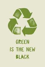 Green Is The New Black - Vinta...