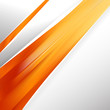 Abstract Orange Brochure Design Graphic