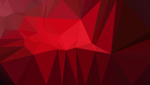 Cool Red Geometric Background ...