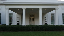 White House Oval Office / North Front.
