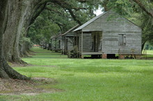 Slave Cabins At Evergreen Plan...