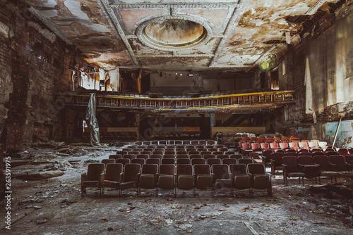 abandoned theatre America Wallpaper Mural